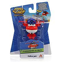 Мини-трансформер Super Wings Джетт (команда Полиции) EU730031, фото 1
