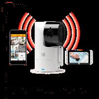 Цифровая интеллектуальная Wi-Fi видео няня  Kodak CHERISH C525