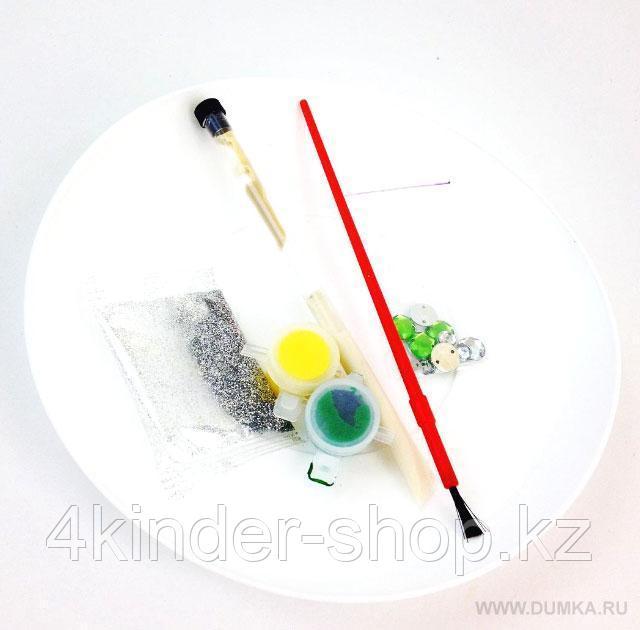 Наборы для творчества: Декор и роспись.Тарелка.Белые лилии - фото 2
