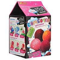 Бомбочки для ванн: Шоколадный десерт