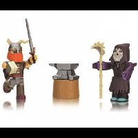 Jazwares Roblox Игровая коллекционная фигурка Game Packs Legendary: Gatekeeper's Attack