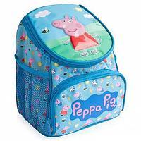 """Рюкзачок увеличенный """"Свинка Пеппа""""  - 270 х 210 x 55 мм, регулируемые лямки, удобная ручка"""