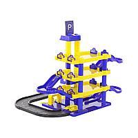 """Паркинг """"Jet"""" 4- уровневый с дорогой (в коробке)"""