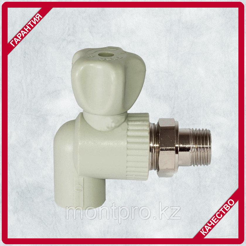 Вентиль радиаторный Угловой  ППР (PPR)