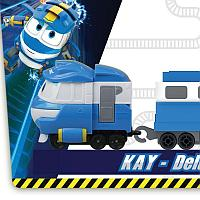 Паровозик с двумя вагонами Кей