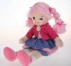 Кукла Земляничка с двумя косичками, 30 см