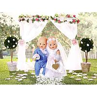 Zapf Creation Baby born  Бэби Борн Одежда для невесты Делюкс, фото 1
