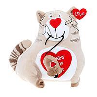 Кот и мышь «Любовь с первого взгляда», 20 см, фото 1
