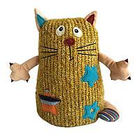 Кот Котейка, 15см. желтый, фото 1