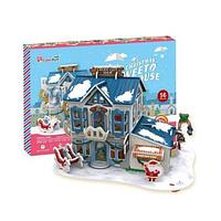Cubic Fun  Кубик фан Рождественский домик 2 (с подсветкой), фото 1