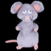 SOFTOY  Мягкая игрушка Мышь, 21 см, фото 1