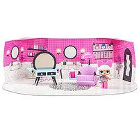 LOL Surprise Furniture Игровой набор ЛОЛ с куклой, салон красоты Леди Дивы