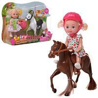 Defa Sairy Style Кукла с лошадью, 14см, в ассортименте