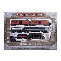 Игрушка Железная дорога Mobicaro Union Pacific со звуком
