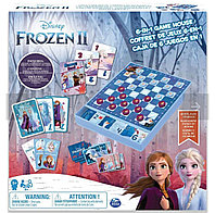 Настольная игра Холодное сердце 6 в 1 Spin Master 6053753 Спин Мастер