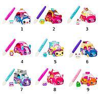 Машинка Cutie Car меняющая цвет с кисточкой (3 сезон, в асс.)