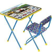 НИКА Набор мебели БОЛЬШИЕ ГОНКИ (стол + мяг стул) h580