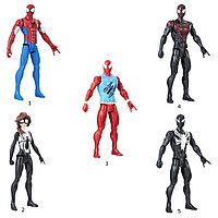 Игрушка Hasbro Spider man фигурка ЧЕЛОВ.ПАУК Pow.pack 30см