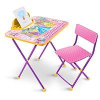 НИКА Набор мебели ПРИНЦЕССА DISNEY (стол складн.с подножк.+пенал,стул)
