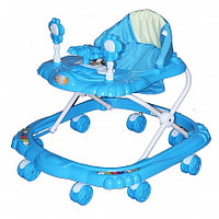 BAMBOLA Ходунки КРАБИК (8 колес,игрушки,муз) 6 шт в кор.(66*56*47) BLUE голубой