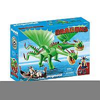 Конструктор Playmobil Драконы: Забияка и Задирака 9458pm