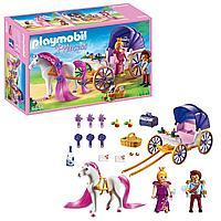 Конструктор Playmobil Замок Принцессы: Королевская чета с каретой 6856pm, фото 1