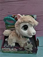 Игрушка FurReal Friends большой Вагс Лама на поводке