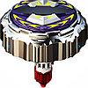 Боевой Волчок  86340 Гулливер SPINNER M.A.D