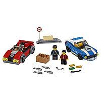Lego City Игрушка Город Арест на шоссе, фото 1