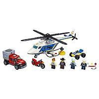 Lego City Игрушка Город Погоня на полицейском вертолёте