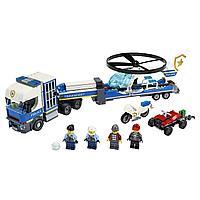Lego City Игрушка Город Полицейский вертолётный транспорт