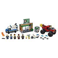 Lego City Игрушка Город Ограбление полицейского монстр-трака
