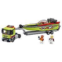 Lego City Игрушка Город Great Vehicles Транспортировщик скоростных катеров