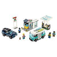 Lego City Игрушка Город Turbo Wheels Станция технического обслуживания