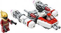 Lego Игрушка Звездные войны Микрофайтеры: Истребитель Сопротивления типа Y