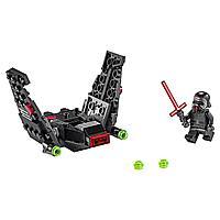 Lego Игрушка Звездные войны Микрофайтеры: шаттл Кайло Рена