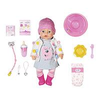 Baby born 826-690 Бэби Борн Кукла Интерактивная Стильная Весна, 43 см Zapf Creation
