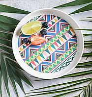 Тарелка Ethnic Festive