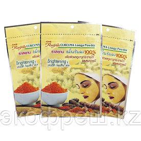 Натуральная порошковая маска-скраб для лица из корня куркумы Isme Curcuma Long Powder 20 г