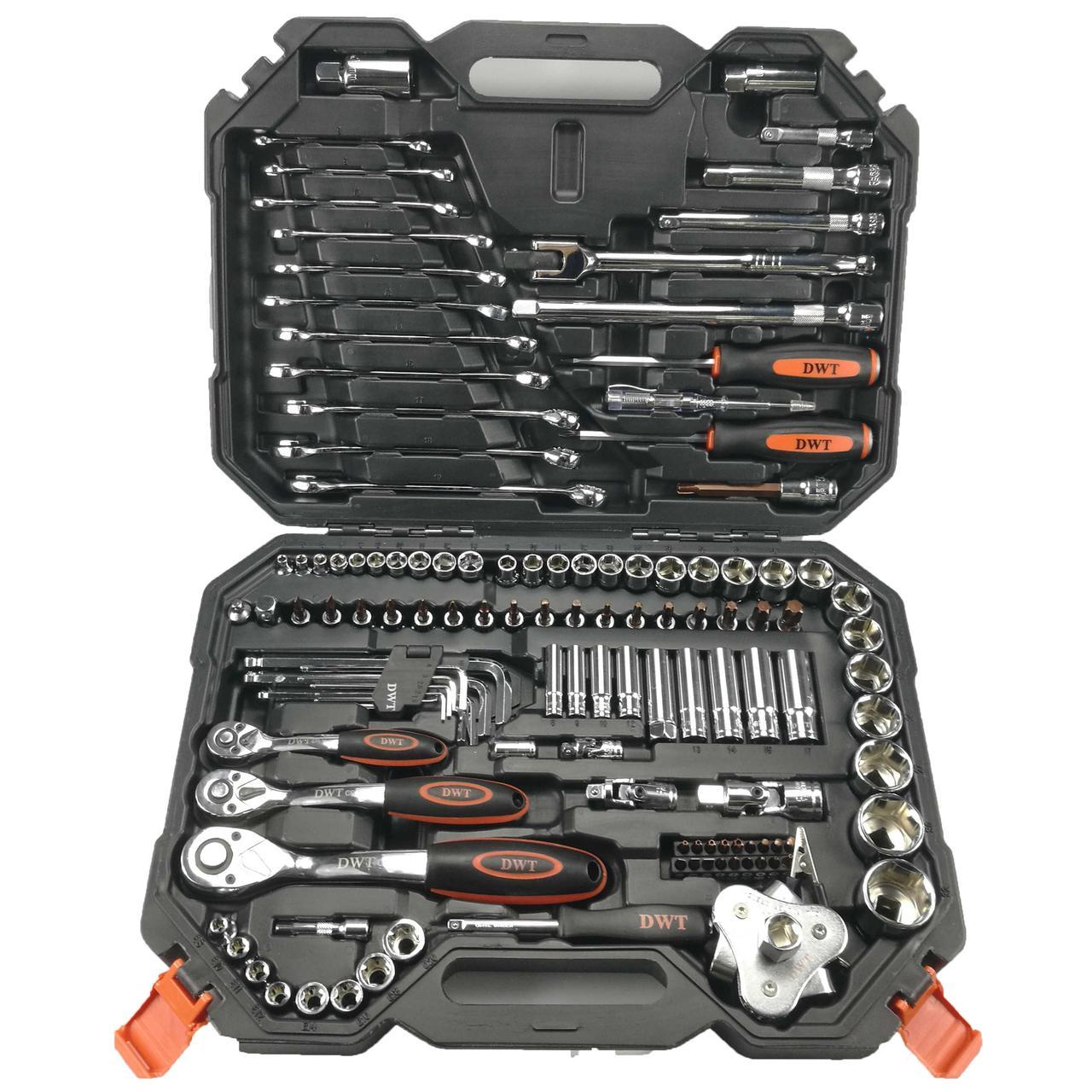 Набор инструментов DWT DHSW-XA123 - 123 предмета