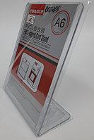 Рекламный держатель Холдер односторонний, А6, вертикальный