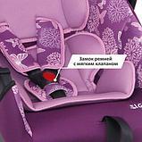 Автокресло для детей 0-13 кг Siger серия Disney baby Эгида Винни Пух кружки желтый, фото 2