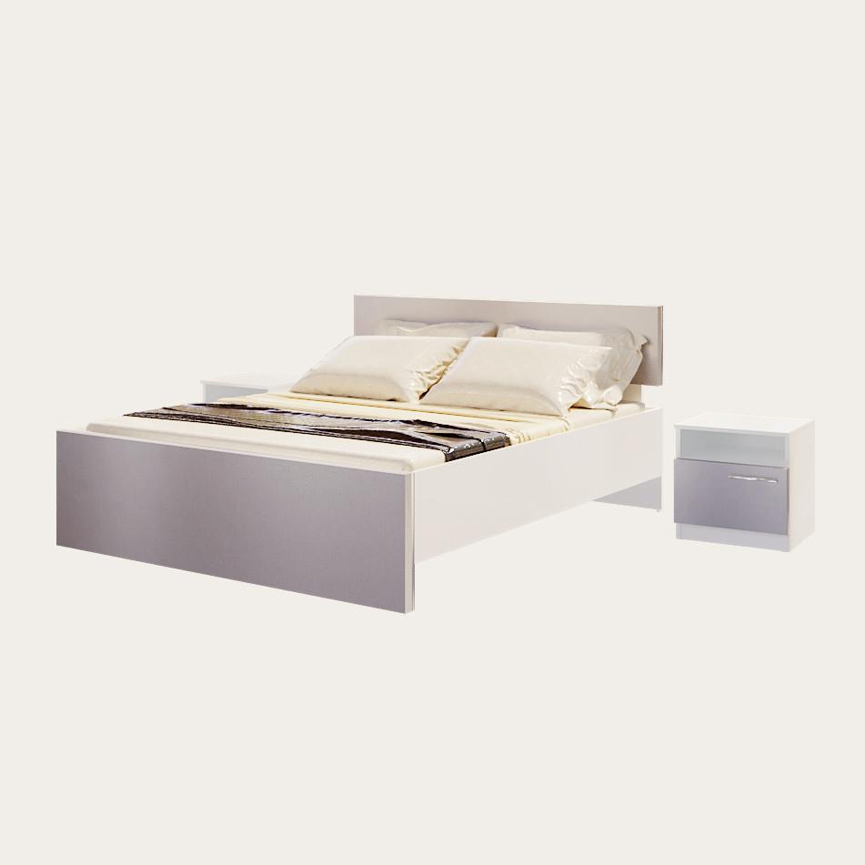 Кровать Медина Алюминий
