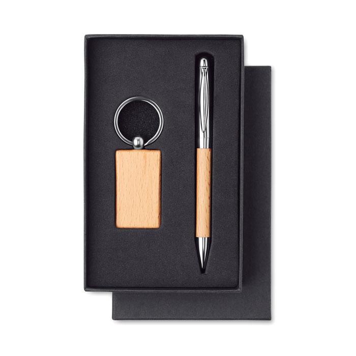 Набор брелок и ручка, PEN & RING