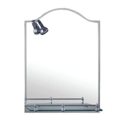 Аквалиния зеркало с лампой 1П 2185, 60*40