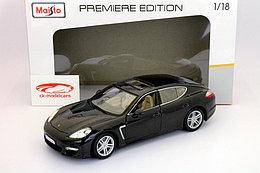 1/18 Maisto Металлическая модель Porsche Panamera Turbo, в ассортименте