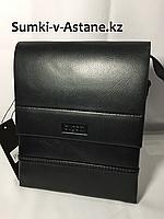 Мужская сумка- планшетка через плечо Bugatti.Высота 22 см, ширина 19 см, глубина 3 см., фото 1