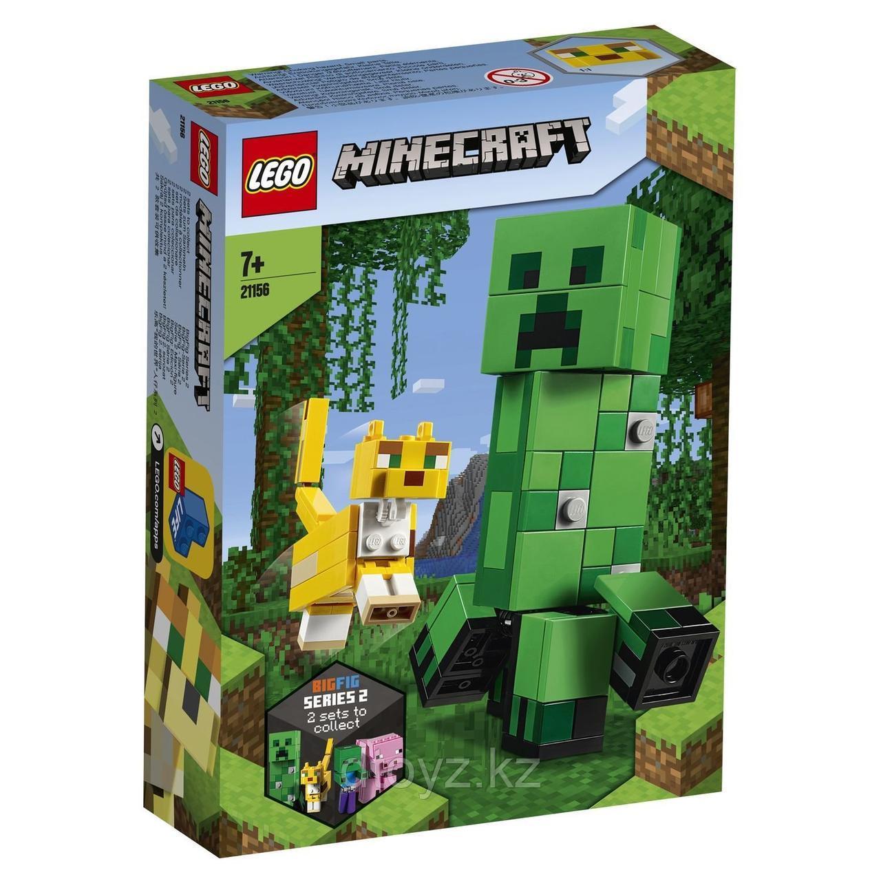 Lego Minecraft 21156 Крипер и Оцелот большой