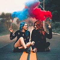 Что нужно знать про цветной дым при фотосессии.