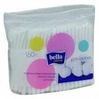 Ватные палочки Bella Cotton в полиэтиленовой упаковке, 160 шт